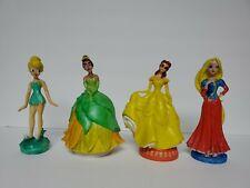 Creepy Hand Painted Disney Princesses Statues Lot of 4
