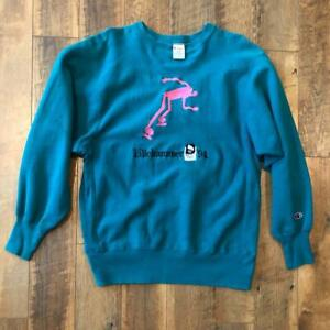 VTG 90s Champion Reverse Weave 1994 Lillehammer Olympics Embroider Sweat Shirt L