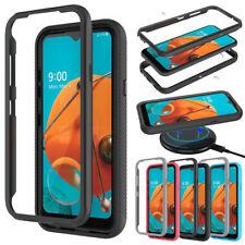 For LG Tribute Monarch Case Shockproof Bumper Hybrid Hard Slim TPU Phone Cover