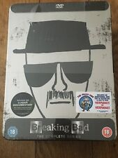 Breaking Bad DVD Complete Series Seasons Collector's Edition Tin Sealed BNIB