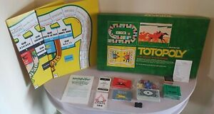 Vintage 1972 Waddingtons Totopoly Board Game Horse Racing | Complete