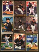 2000 Topps NEW YORK METS Complete Team Set Series 1 & 2 WORLD SERIES 22 Cards !