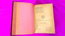 SOPHIA, REVISTA TEOSOFICA, ORIENTALISMO, OCULTISMO, M. TREVIÑO Y VILLA, 1913