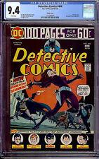 Detective Comics #444 CGC 9.4 DC 1974 Pacific Coast! 100 Page! Batman! G9 124 cm