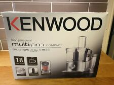 KENWOOD FOOD PROCESSOR 18 funzioni FPM250 Multipro Compact 750W 2.1L