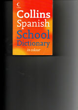 Collins spanish school dictionary in colour foreign speaking teaching