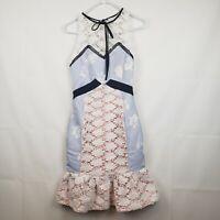 Endless Rose Women's Dress NWT Ruffle Eyelet Floral Mermaid Fit Size XS
