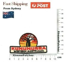 Kununurra Western Australia Embroidered Iron Sew on Patch Motif Badge