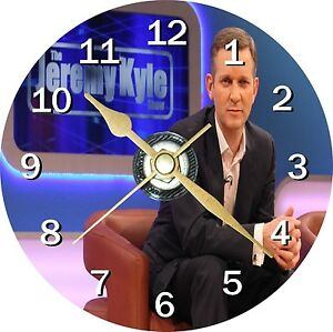 Jeremy Kyle Novelty Cd Clock Can be personalised