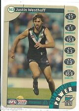 2013 Teamcoach Gold (163) Justin WESTHOFF Port Adelaide