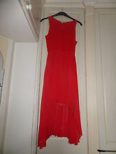 New Look Ladies Red Dress Size 10