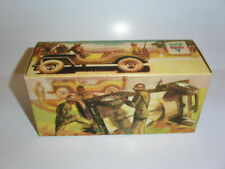 * ARNOLD *  JEEP   *  Tin Toy Car *   Box   *
