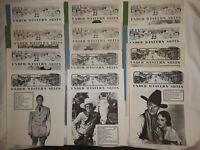Lot of 12 UNDER WESTERN SKIES Magazines Roy Rogers, John Wayne, b movie cowboys
