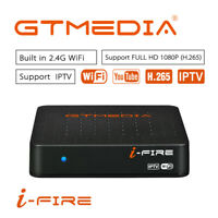 GTMedia Ifire Smart TV BOX 1080P H.265 Xtream Stalker Set Top Box Decodificador