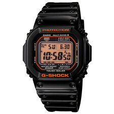CASIO G-SHOCK BLACK X ORANGE SERIES GW-M5610R-1JF 6 MULTIBANDS SOLAR POWERED