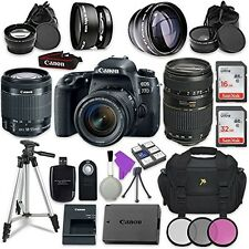 Canon EOS 77D 24.2 MP Digital SLR Camera with Wi-Fi & Bluetooth