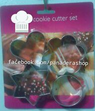 Basic Shapes Cookie Fondant Gum Paste Cutter Plunger
