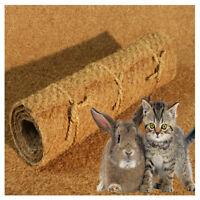 Nager-Teppich aus 100% Kokosfasern, Nagermatte geeignet als Käfig Bodenbedeckung