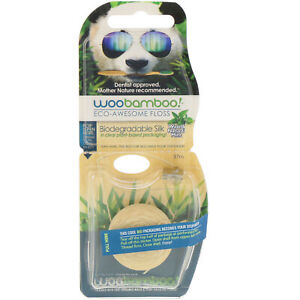 Eco-Awesome Floss, Biodegradable Silk, Natural Mint