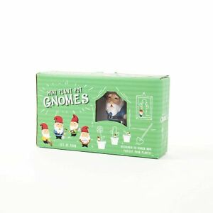 Gift Republic Gnomes Plant Pot, Multi-Colour