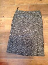 Marks and Spencer No Pattern Cotton Flippy, Full Women's Skirts