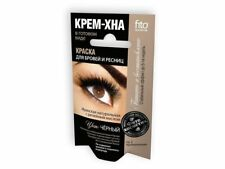 Henna Cream Black Graphite Brown Eyebrow Lashes Kit Tint BurdockOil Ready to use
