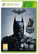 Xbox 360 Game Batman Arkham Origins incl. Deathstroke & KNIGHTFALL dlc-pack NEW