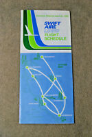 Swift Aire Timetable - April 20, 1980