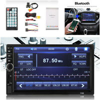 """7"""" Car Stereo Radio 2 DIN Bluetooth V3.0 HD MP5 Player with Rearview Camera Kit"""
