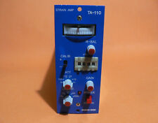 SOHGOH KEISO TA-110 STRAIN AMPLIFIER NEW OLD STOCK WITHOUT BOX NOT TESTED