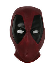 Deadpool Mask Latex Full Head Mask Movie Halloween Cosplay Costume Props