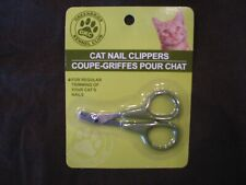 Greenbrier Kennel Club Cat Nail Clippers Grooming Trimmer Scissors (New)