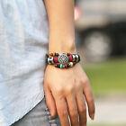 Echt Faux Leder Armband Leather Bracelet!surferarmband Armbänder einstellbar