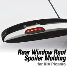 Rear Window Wing Roof Spoiler Aero Parts Painted For KIA 2018-20 Picanto Morning