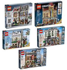 LEGO COLLEZIONISTI CREATOR MODULARI LOTTO 10218 10232 10243 10246 10251 NUOVI