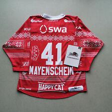 #41 MAYENSCHEIN - GAME WORN JERSEY WEIHNACHTEN - AUGSBURGER PANTHER - DEL 19-20
