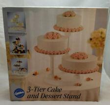 Wilton 3 Tier Cake and Dessert Stand