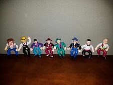 Vintage Playmates Toys Dick Tracy Action Figure Lot of 8