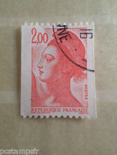 FRANCE 1983, timbre 2277, type ROULETTE LIBERTE, oblitéré VF cancelled STAMP