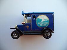 WELCOME BREAK - LLEDO VV6 MODEL T VIEW VAN -  BLUE