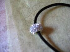 Sparkly Bead for European Bracelets or Silver Necklace