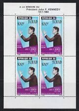 Chad 1964 MNH Sc C20a President of United States John F. Kennedy