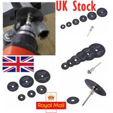 UK 6pcs 22-50mm HSS Saw Disc Wheel Cutting Blades Drills Saw Rotary Metal Tools