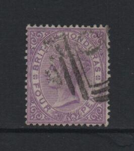 BRITISH HONDURAS 1882-87 QV 4d. mauve Wmk Crown CA Perf 14 (SG20) *USED*