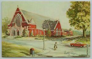 Memphis Tennessee~Grace St Luke's Episcopal Church~Vintage Postcard
