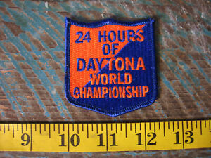 24 HOURS OF DAYTONA WORLD CHAMPIONSHIP RACING PATCH SCCA PORSCHE FORD FERRARI