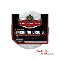 """Meguiars Microfiber Correction System Finishing Discs 6"""" 125mm Pack of 2 DMF6"""