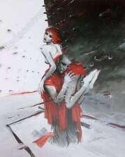 Affiche Enki BILAL Roméo Juliette 150ex numérotée signée 40x50 cm