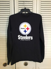 NFL Pittsburgh Steelers Football Black Long Sleeve Shirt Boys