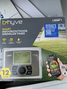 orbit b-hyve 12 station Wi-Fi Compatible Indoor/Outdoor Smart Irrigation Timer